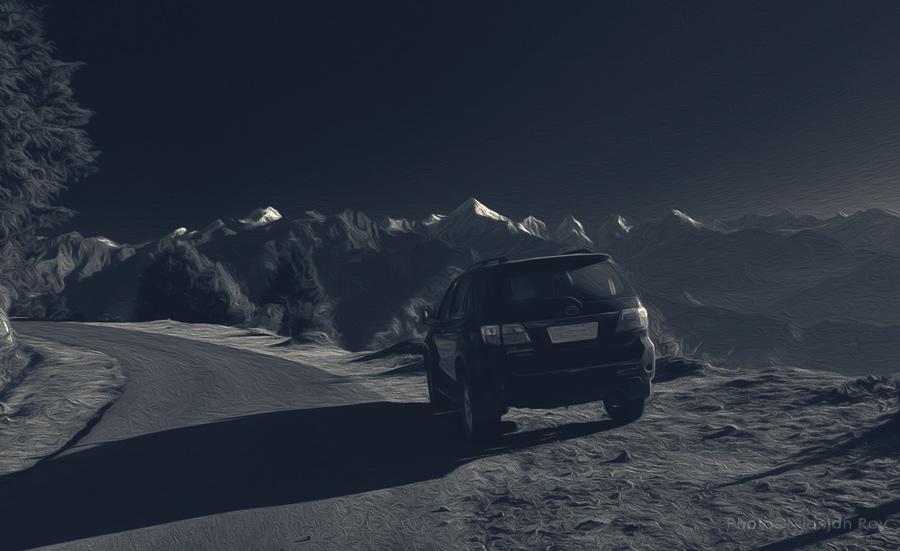 Roadtrip, digital painting